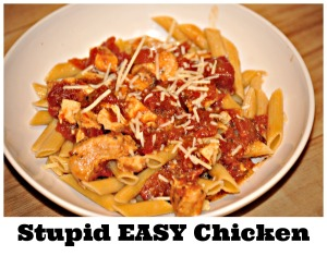 Stupid EASY Chicken 1