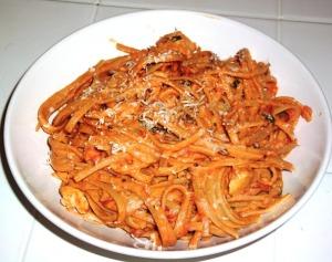 Sun-dried Tomato Fettuccine