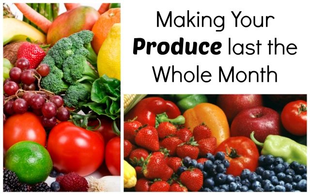 Making Produce Last